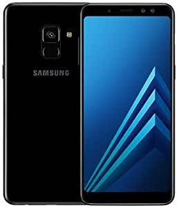 "Samsung Galaxy A8+ (2018) Factory Unlocked SM-A730F/DS DUAL SIM 64GB/4GB Ram, 6"" Screen, 16MP Rear Camera + Dual Frontal Camera 16MP+8MP, IP68, 4G LTE International Version No Warranty (Black)"