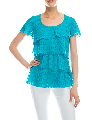 Layered Lace Top - 6