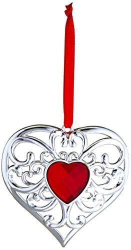 Lenox Gemmed Heart Ornament -