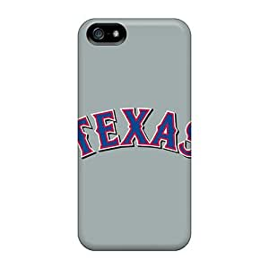 Perfect Fit RKv1207kKna Baseball Texas Rangers 4 Case For Iphone - 5/5s