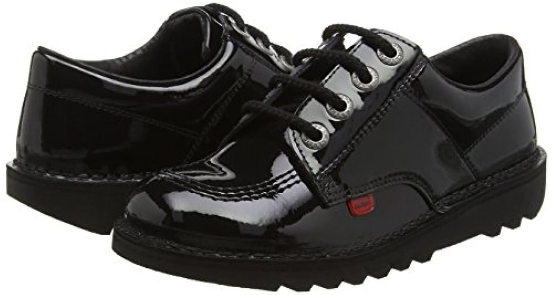 Kickers Kick Lo Core, Unisex Kids' Loafers, Black (Black), 3 UK (36 EU)