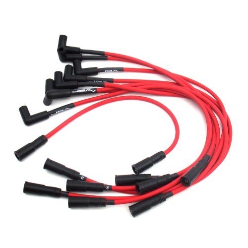 JBA W0832 Red Ignition Wire for GM 5.0/5.7L Truck ()