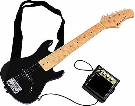DELSON STARSINGERBK - Kit de guitarra eléctrica, color negro ...