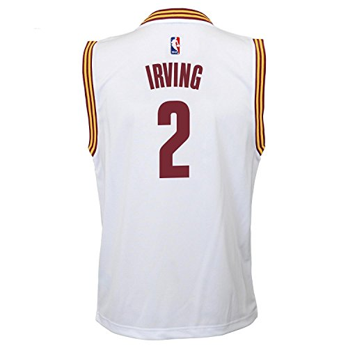 Kyrie Irving Cleveland Cavaliers #2 NBA Youth Home Jersey White (Youth Medium 10/12)