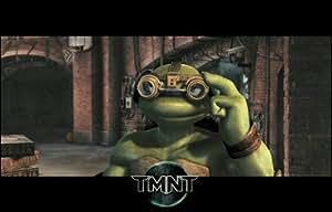 Teenage Mutant Ninja Turtles Michaelangelo gafas de alta calidad MUSEO de impresión de Lienzo desconocido 17x 11