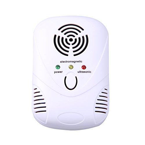 Electronic Ultrasonic Mouse Killer 110-250V 6W Mouse Cockroach Trap Mosquito Repeller Insect Rats Spiders Control US/EU Plug