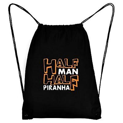Teeburon HALF MAN , HALF Piranha Sport Bag 85%OFF