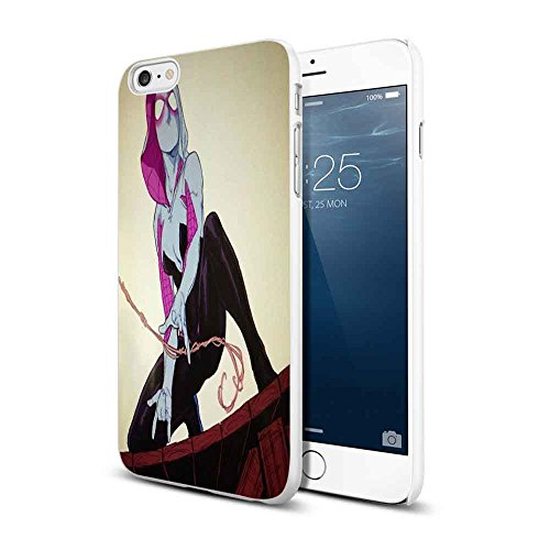 spiderman woman For iPhone 6/6s White Case