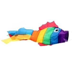 Calcetines de peces viento