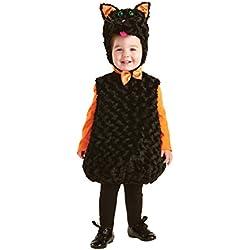 UNDERWRAPS del bebé Gato Negro Belly-Babies, Color Multi, Talla X-Large (4-6)