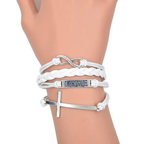 caetler-vintage-bracelet-infinity-love-leaf-leather-rope-infinite-bangle