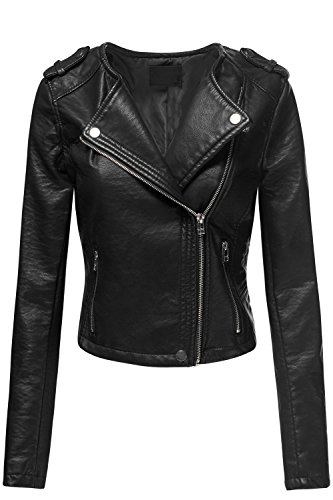 Double Breast Black Jacket - 1