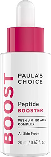 Paula's Choice BOOST Peptide Booster, 0.67 Ounce Bottle Peptide Serum Booster for the Face and Neck, Firmness Enhancing Moisture for Normal Dry or Dehydrated Skin Aging Skin