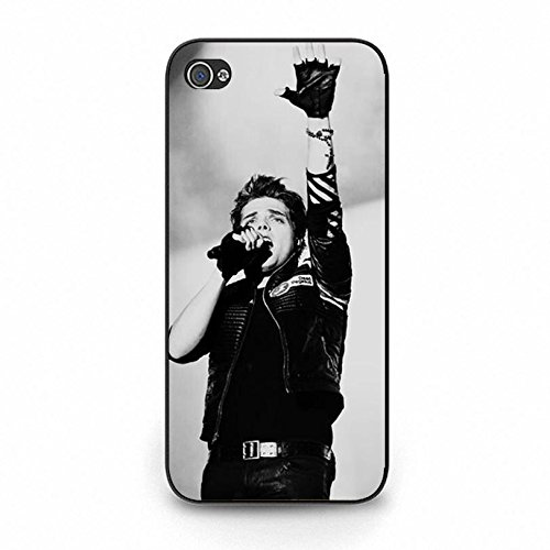Iphone 5c Band MCR Cover Shell Handsome Gerard Way Alternative/Indie Rock Band My Chemical Romance Phone Case Cover for Iphone 5c