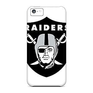 Premium Tpu Oakland Raiders Cover Skin For Iphone 5c