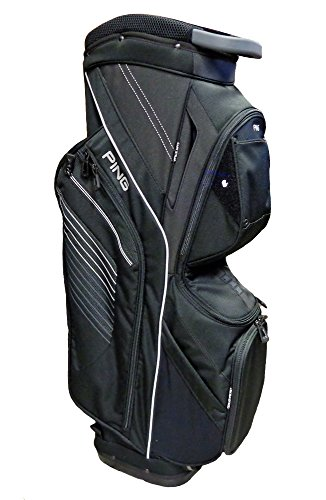 PING Golf Men's Traverse II Cart Bag, Black