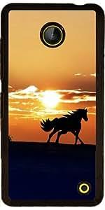 Funda para Nokia Lumia 630 - Caballo En La Puesta Del Sol by WonderfulDreamPicture