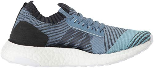 adidas Women's Ultraboost X Parley Running Shoe, raw Grey/Carbon/Blue Spirit, 6 M US