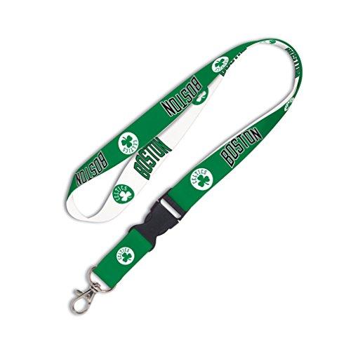 WinCraft Boston Celtics Green White Buckle Snap NBA Licensed Lanyard (Boston Snap Celtics)