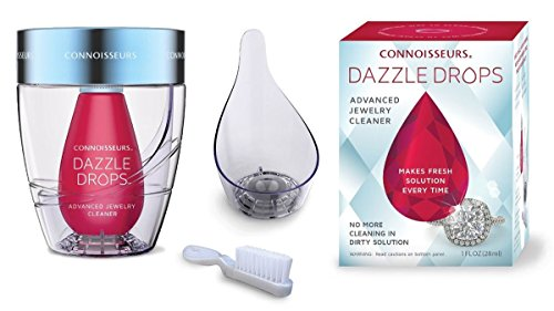 Connoisseurs Dazzle Drops Advanced Jewelry Cleaning Kit by Jambs Jewelry