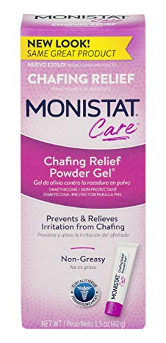 Monistat Care Chafing Relief Powder Gel | Anti Chafe Protection | 1.5 OZ (Best Way To Stop Chafing Between Thighs)