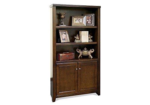 - Tribeca Loft Cherry Bookcase with Lower Doors Tribeca Loft Burnt Umber Cherry Dimensions: 36