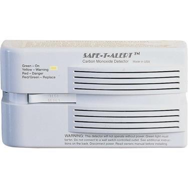 MTI Industries 65-541-P-WT Safe T Alert Carbon Monoxide Alarm - Surface Mount, - Carbon Monoxide Propane