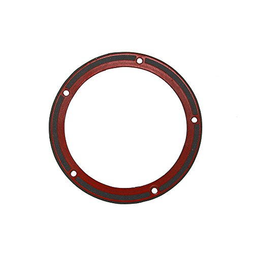JFG RACING 5 Hole Derby Gasket With Silicone Bead For 99-15 Harley Big Twin Primary Cover (Derby Cover Primary)