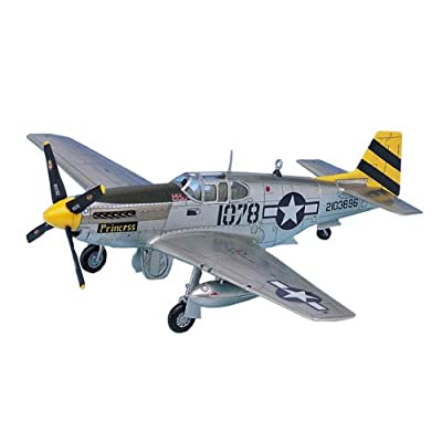 Academy The Fighter of World War II P-51C Model Kit: Toys & Games