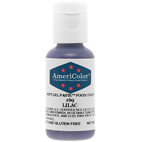 - Food Coloring AmeriColor Lilac Soft Gel Paste .75 Ounce