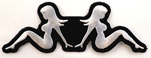 Mud Flap Mudflap Girls Chicks Ladies Motorcycle Uniform Patch Biker