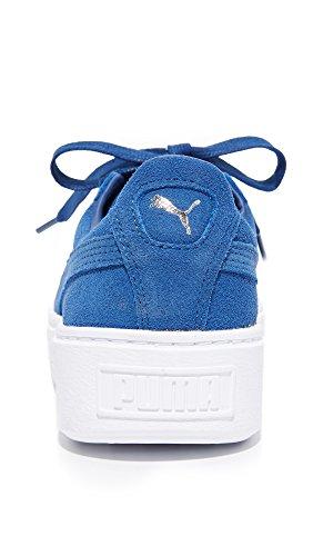 Puma Della Peacoat Piattaforma Nucleo Ci Peacoat Scamosciata Nero Sussurrare Sneaker Donne Bianco B Pelle Moda Puma Delle m x14wFUq