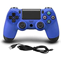 New Blue Wired USB Controller for PS4 Playstation 4 & PC