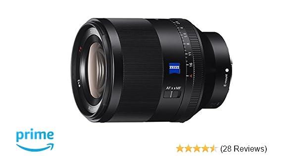 5755fcb074 Amazon.com : Sony SEL50F14Z Planar T FE 50mm f/1.4 ZA Lens : Camera & Photo