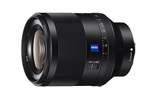 Sony Planar T* FE 50mm F1.4 ZA Lens for Sony E-mount Full Frame and APS-C Cameras SEL50F14Z
