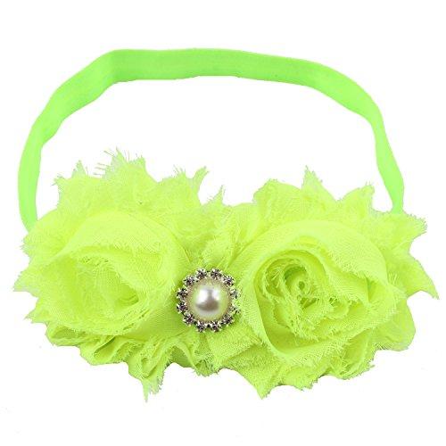 Light Green Girls - Miugle Baby Girls Headbands with Bows (light green)