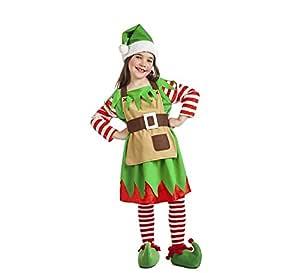 Disfraz de Elfa de Navidad para bebé: Amazon.es: Juguetes y ...