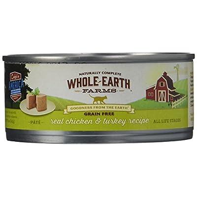 Merrick Whole Earth Farms Grain Free Wet Cat Food - Real Chicken & Turkey - 5 Oz - 24 Pk