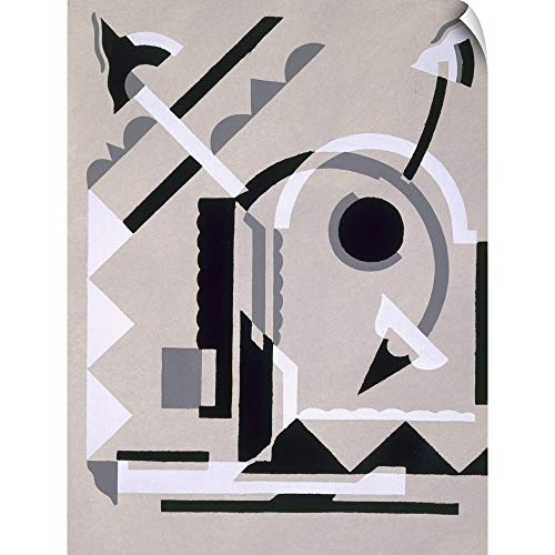 CANVAS ON DEMAND Serge Gladky Wall Peel Wall Art Print Entitled Design from 'Nouvelles Compositions Decoratives', Late 1920s 12
