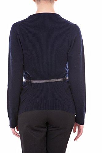 La01 ceinture Cardigan cachemire avec Cachemire L Blu 20102 100 Lagnamelagna ZCq5w