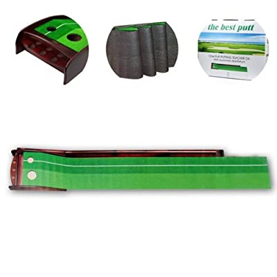 Executive Portable Indoor Golf Set w/ Putter Golf Grass