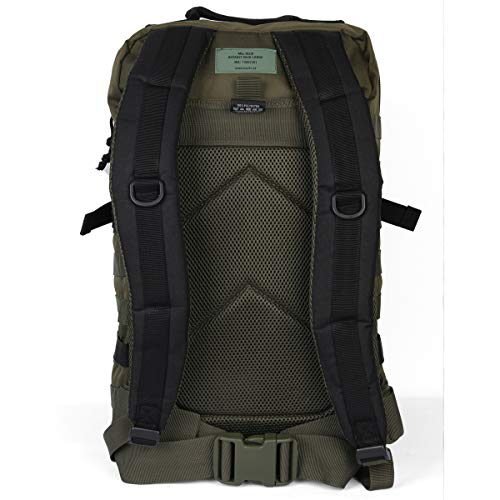 Pack schwarz Dos Assault Homme Ranger Green Sac Us Mil À tec wftxp