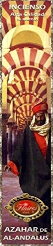 Moors Arab Alhambra Grenada Orange Blossoms Azahar Incense Sticks Flaires - 3 PACK