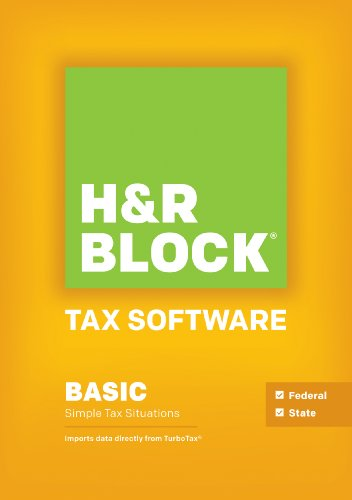H&R Block Tax Software 2013 Basic + State [OLD - Tax Block 2013 H R Software