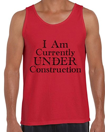 Awkward Styles Men's I Am Currently Under Construction Gym Tank Tops Workout...