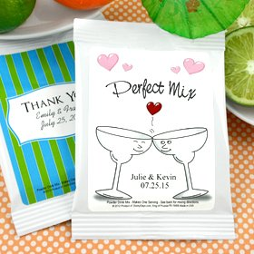 Personalized Cocktail Mixes Favors - Set of 24 (Margarita, Wedding)