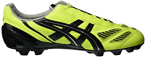 Asics Tigreor IT, color amarillo fluorescente, negro y plateado), cód. PY408 9454