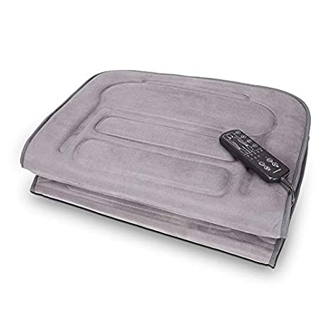 Lanaform LA110315 - Colchón de masaje por vibración, 10 motores, 3 niveles de intensidad