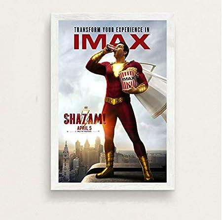 haoxinbaihuo Shazam New DC Superheroes Movie Art Pintura ...