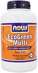 EcoGreen Multi Vitamin Iron VegiCaps product image